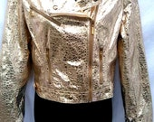 GOLDEN BIKER jacket