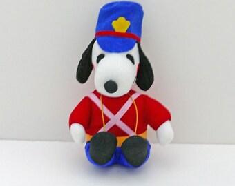 Snoopy Nylon Doll Dressed as a Drummer Boy