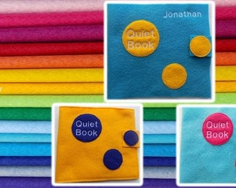 Customize Your Own Quiet Book
