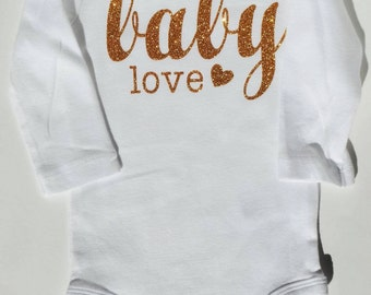 Baby love infant onesie