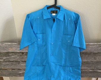 Authentic Traditional Mexican Cotton Guayabera