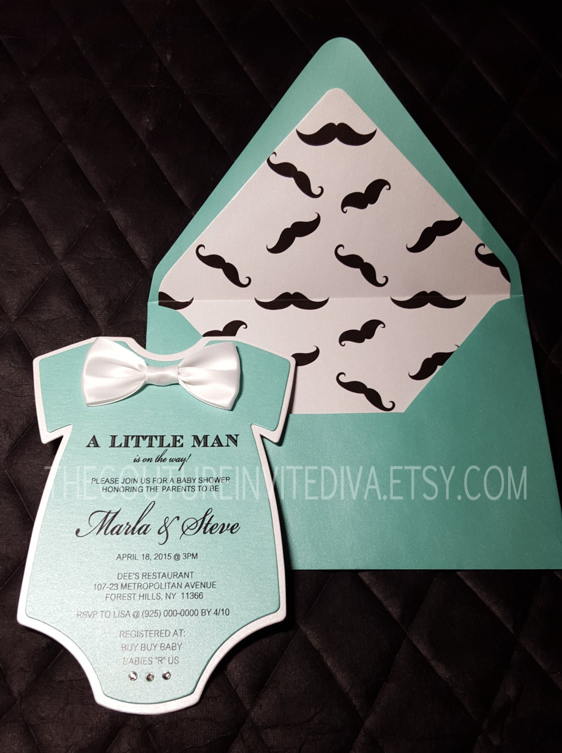 little man baby shower invitation ii bow tie baby shower