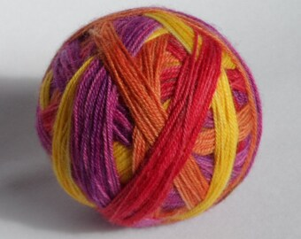 Primulas Self Striping 4ply Sock Yarn 100g