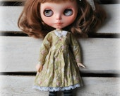 Handmade cotton dress for Blythe * For Pure Neemo Body size* by Natali Sekreta :) Dress Outfit Sweet Vintage Style Fashion Blythe