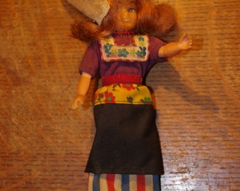 Small Dutch Doll - Ethnic Clothes