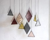 SALE  Stained Glass Elements (set of 9)