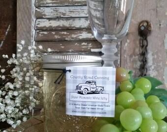 State Fair Award Winning Pear Moscato Wine Jelly