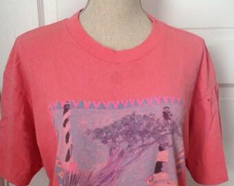 Vintage Outer Banks North Carolina Beach Tshirt