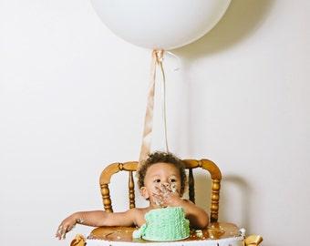 FIRST BIRTHDAY BOY / First birthday highchair banner / One high chair banner / Safari birthday banner / Giraffe birthday / 1st birthday boy