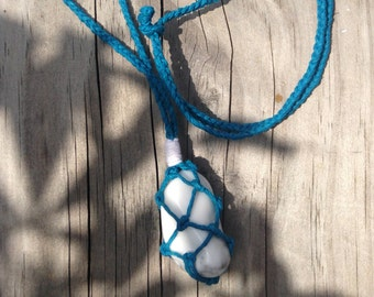 Howlite Crystal Healing Necklace