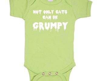 Grumpy Cat bodysuit onesie Geek Baby / 3M/6M