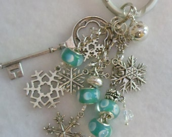 Purse Charms...SNOWFLAKES   Whimsical....Adorable!!!                    FREE SHIPPING           Item # 103