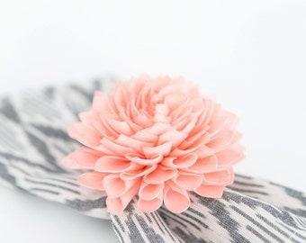 4 Coral Napkin Ring Holders, Wedding Napkin Ring, Coral Napkin Ring, Table Decor, Wedding Decor
