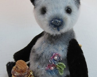 "3"" Handmade Artist Bear PHOEBEE by Warm Heart Bears"