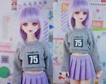 Slim MSD Minifee or SD BJD Crop Sweater - Flawless 75