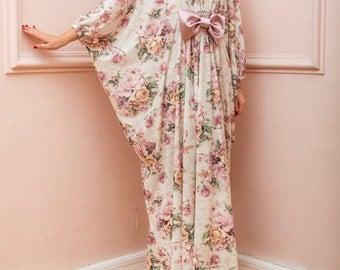 Floral Maxi Dress, Long Maxi Dress, Bow Maxi Dress, Bow Dress, Floral  Dress, Summer Dress, Plus Size Dress, Plus Size Maxi Dress, 111.188