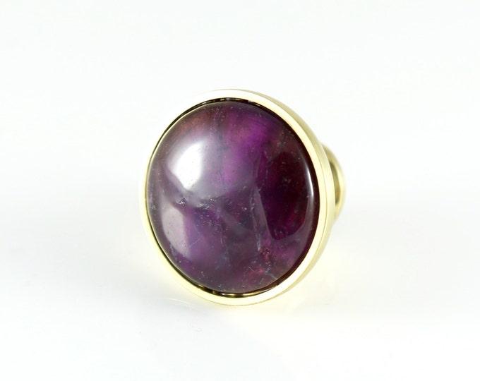 Amethyst Round Knob--Amethyst Gemstone Knob