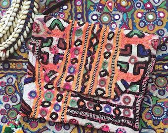 SALE Baloda Handbag small banjara cross-body bag OOAK