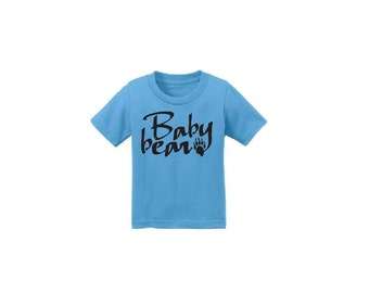 Baby Bear T-Shirt Shirt Tee Boys or Girls Infant Toddler or Youth Childs