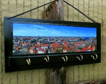 Wall Key Holders, Key Rack, Key Hook, Key Hanger, Copenhagen Denmark, Key Holders, Housewarming Gift Ear Phone Storage, Jewellery Organizer