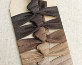 Smokey Nudes- Gift Set of 5 Perfect Hair Ties