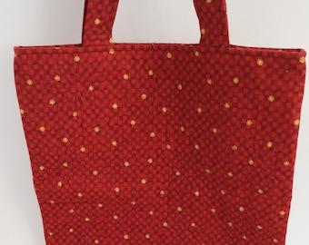Quilted Bag/Tote/Shopping bag/Market Bag/Book Bag