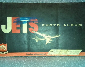 Trading Card Guild JETS Photo Album /FREE SHIPPING!