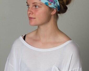Yoga Headband by Manda Bees - No Slip Fitness Workout Headband - SILLY FISH