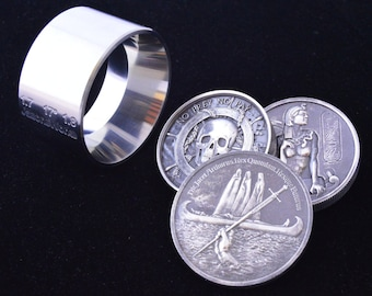 "One  1.7"" x 1.8"" @ 17 Degree ""BIG BOY"" Folding/Reduction Die Hardened Stainless Steel for Large Rounds and Coins"