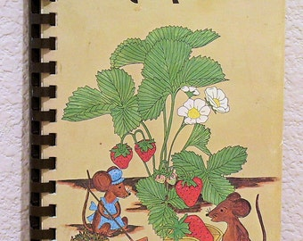 Berry-good Recipes, Local Cookbook by The Hustlers, Redding, CA 1977