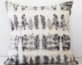 Sumac leaves and fruits Ecoprint Decorative Pillow
