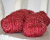 Irish Jig - 4 Ply Donegal Tweed - FLIRT - Suzy Parker Yarns- Superwash Merino , Viscose Nep 100g approx 400meters/437 yards