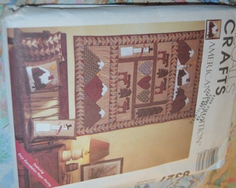 McCalls 8327 Craft American Tradition Quilt Sewing Pattern - UNCUT