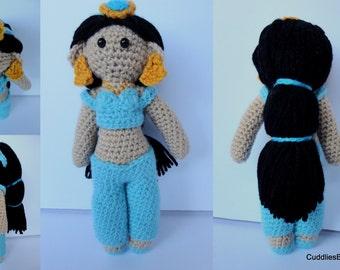 Disney Princess - Princess Jasmine Crochet Doll