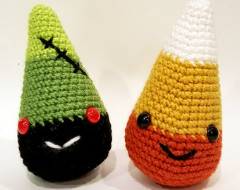 Candy Corn Amigurumi Pattern