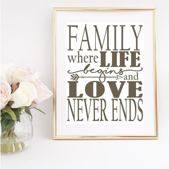 Printable Family Wall Decor : Printable wall art prints family gallery