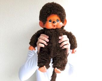 XL 1970s Monchichi Monkey, AJENA vintage