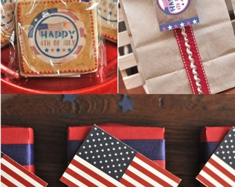 4th of July Party Printables Supplies & Decorations