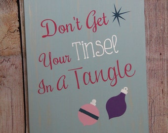 Tinsel in a Tangle