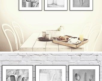 Black And White Art Prints Set Neutral Wall Of 3 Fine