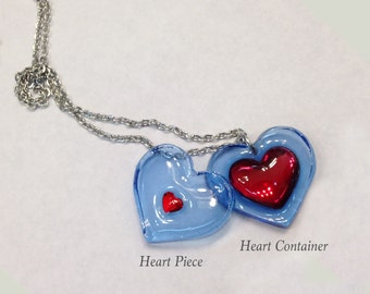Heart Piece or Container // The Legend of Zelda Ocarina of Time // Majora's Mask //MADE to ORDER