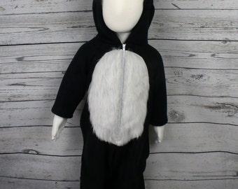 Skunk Fleece Toddler Costume