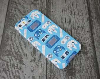 Generations Video Game Controllers Patterned iPhone 5 / 5S / SE Case