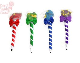 Dinosaur Lollipop Pen, Dino Candy Pen, Dinosaur Favor, Dinosaur Birthday, Dino Birthday, Birthday Favor, Boy, Dinosaur Theme Candy Favor