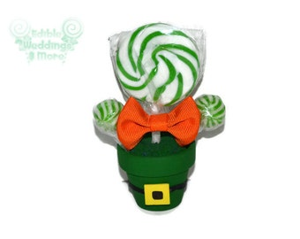 Leprechaun St Patricks Day Mini Favor, Leprechaun Theme, St Patricks Day Candy, St Pattys Day Small Favors, Leprechaun Favors, Leprechaun