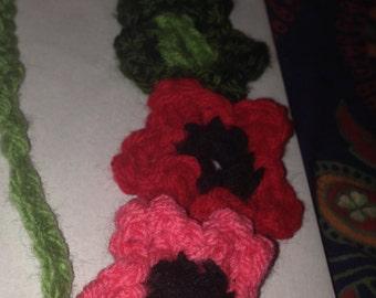 Spring 5-flower headband