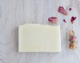 Shea butter, handmade cold process soap