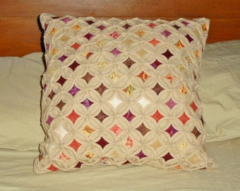 The Radish Cathedral Windows Pillow