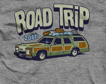 Road Trip Shirt with the Griswold Station Wagon