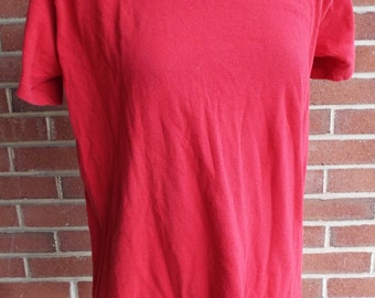 Vintage Red T Shirt by Arrow Brigade